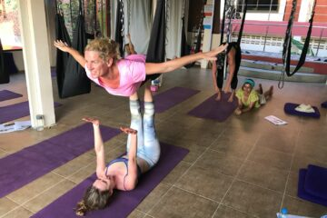 Aerial Acro Studio Fly Yoga By ULU Yoga