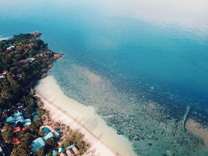 koh phangan beach - ulu yoga retreat - 2